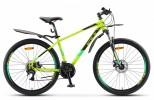 Велосипед 26' хардтейл, рама алюминий STELS NAVIGATOR-645 MD диск, лайм, 21 ск., 16'
