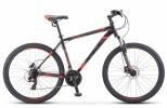Велосипед 27,5' хардтейл STELS NAVIGATOR-700 MD диск, черный/красный, 21 ск., 17,5' F010