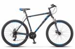 Велосипед 27,5' хардтейл STELS NAVIGATOR-700 V серый/синий, 21 ск., 21' V020