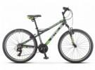 Велосипед 26' хардтейл, рама алюминий STELS NAVIGATOR-610 V т-сер./зел. 2019, 21ск., 16', K010