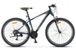 Велосипед 27,5' хардтейл, рама алюминий STELS NAVIGATOR-710 V, темно-синий, 27 ск., 17'