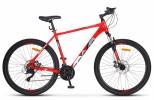 Велосипед 27,5' хардтейл, рама алюминий ДЕСНА-2750 MD красный/серый 2019, диск, 24 ск., 17,5' V010