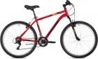 Велосипед 26' хардтейл, рама алюминий FOXX ATLANTIC красный, 16' 26AHV.ATLAN.16RD0