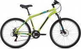 Велосипед 27,5' хардтейл, рама алюминий FOXX ATLANTIC D зеленый, диск, 18ск., 20' 27AHD.ATLAND.20GN0