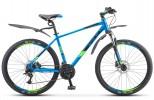 Велосипед 26' хардтейл, рама алюминий STELS NAVIGATOR-645 D диск, т-синий 2019, 24 ск., 15,5' V010