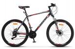 Велосипед 26' хардтейл, рама алюминий ДЕСНА-2650 MD диск, серый/красный 2019, 24 ск., 16' LU082371