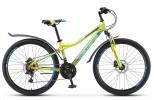 Велосипед 26' хардтейл STELS NAVIGATOR-510 D диск, салатовый, 18 ск., 14' (2020) V010 LU083600