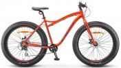 Велосипед 26' хардтейл, рама алюминий STELS AGGRESSOR MD диск, красн/сер, 8 ск., 18' V010 LU091596
