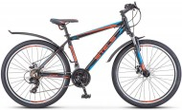 Велосипед 26' хардтейл, рама алюминий STELS NAVIGATOR-620 MD диск, антрацитовый, 21ск., 17'