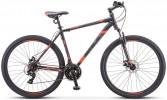 Велосипед 29' хардтейл STELS NAVIGATOR-900 MD чёрный/красный, 21 ск., 17,5' F010 (2019) LU080684