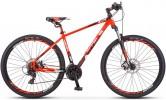 Велосипед 29' хардтейл STELS NAVIGATOR-930 MD неон.красный/черный 24ск., 16,5'