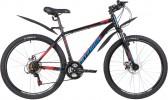 Велосипед 26' хардтейл STINGER CAIMAN D диск, черный, 16' 26SHD.CAIMAND.16BK1