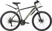 Велосипед 27,5' хардтейл STINGER CAIMAN D диск, черный, 16' 27SHD.CAIMAND.16BK1
