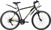 Велосипед 27,5' хардтейл STINGER CAIMAN черный, 16' 27SHV.CAIMAN.16BK1