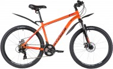 Велосипед 26' хардтейл, рама алюминий STINGER ELEMENT EVO оранжевый, 18' 26AHD.ELEMEVO.18OR1