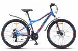 Велосипед 27' хардтейл, рама сталь STELS NAVIGATOR-710 MD диск, син./черн./красн., 21 ск., 18'