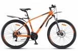 Велосипед 27,5' хардтейл, рама алюминий STELS NAVIGATOR-745 MD оранжевый 2020, 24 ск., 21' V010