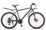 Велосипед 26' хардтейл, рама алюминий STELS NAVIGATOR-620 D диск, антрацитовый, 21ск., 19'
