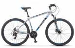 Велосипед 29' хардтейл STELS NAVIGATOR-900 D серебристый/синий 21ск., 21'