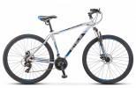 Велосипед 29' хардтейл STELS NAVIGATOR-900 MD серебристый/синий, 21 ск., 21' (2020) F010 LU085701