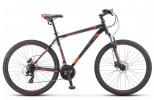 Велосипед 27,5' хардтейл STELS NAVIGATOR-700 MD диск, Чёрный/красный 2019, 21 ск., 21' F010 LU080655