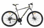 Велосипед 29' хардтейл STELS NAVIGATOR-910 MD чёрный/золотой 24ск., 18,5' V010