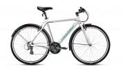 Велосипед FORWARD 28' гибрид, рама алюминий, ROCKFORD 1.0 белый, 21 ск., 20'  RBKW6Y68Q003