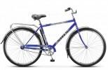 Велосипед 28' дорожный STELS NAVIGATOR-300 Gent синий, 1ск., 20' + корзина Z010
