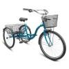 Велосипед 26' STELS ENERGY-VI темно-зеленый, +корзина-2шт., 6 ск., 17'