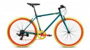 Велосипед 28' дорожный FORWARD INDIE JAM 2.0 зеленый мат., 7 ск., 18' RBKW7YN87003
