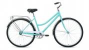Велосипед 28' городской, рама женская FORWARD TALICA 28 1.0 мятный, 1 ск., 19' RBKW0RN81005