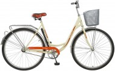 Велосипед 28' городской, рама женская FOXX VINTAGE бежевый, передняя корзина,18' 28SHC.VINTAGE.18BG1