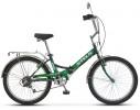 Велосипед 24' складной STELS PILOT-750 красный, 6 ск., 16'