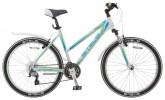 Велосипед STELS 26' рама женская, алюминий, MISS-6500 белый/салатовый/голубой, 21 ск., 17,5'