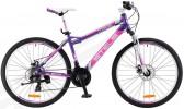 Велосипед STELS 26' рама женская, алюминий, MISS-5100 MD диск, фиолетовый, 21 ск., 17'