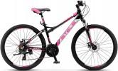 Велосипед STELS 26' рама женская, алюминий, MISS-5300 MD диск, черный 21 ск., 17'