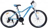 Велосипед 26' рама женская, алюминий STELS MISS-6000 V голубой, 18 ск., 17'