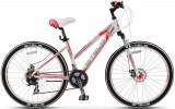 Велосипед STELS 27,5' рама женская, алюминий, MISS-6100 MD диск, белый мат., 21 ск., 16'