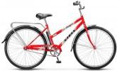 Велосипед 28' городской, рама женская STELS NAVIGATOR-300 LADY красный, 1 ск., 20' + корзина Z010