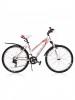 Велосипед STELS 26' рама женская, алюминий, MISS-6100 белый/серый/красный, 21 ск., 17,5'