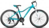 Велосипед STELS 26' рама женская, алюминий, MISS-6100 бирюзовый, 21 ск., 17'