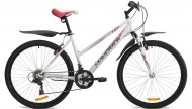 Велосипед 26' хардтейл, рама женская MAVERICK Estelle 1.0 белый, 18 ск.