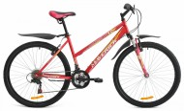 Велосипед 26' хардтейл, рама женская MAVERICK  Estelle 1.0 кораловый, 18 ск.
