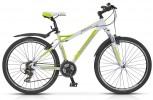 Велосипед 26' рама женская, алюминий STELS MISS-8100 белый/зеленый, 21 ск., 18,5' (19-З)