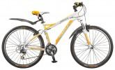 Велосипед STELS 26' рама женская, алюминий, MISS-8500 белый/желтый/серебристый, 21 ск., 18,5'