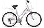 Велосипед STELS 26' рама женская, алюминий, MISS-9300 пурпурный/фиолетовый, 24 ск., 15,7'