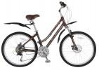 Велосипед 26' рама женская STELS MISS-9500 MD диск, коричневый, 24 ск., 17,7'