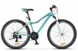 Велосипед 26' рама женская, алюминий STELS MISS-6000 морская волна/оранжевый, 18 ск., 15' (19-З)