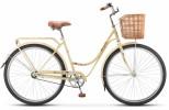 Велосипед 28' городской, рама женская STELS NAVIGATOR-325 Lady сл.кость/корич., 1ск., 20'+корз.плет.