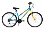 Велосипед 26' хардтейл, рама женская ALTAIR MTB HT 26 1.0 Lady голубой, 18ск.,15' RBKT77N6P003 (19)